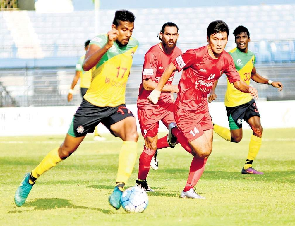 Fed Cup: East Bengal play out goalless stalemate against Aizawl FC