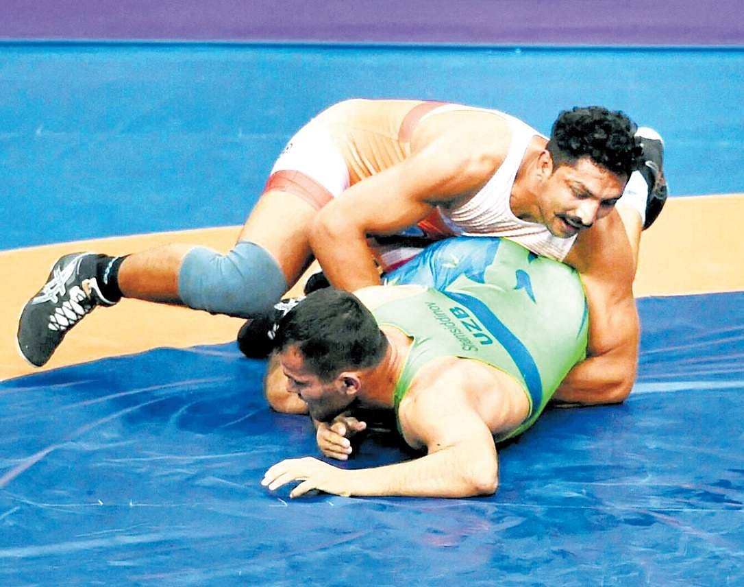 Asian Wrestling Championships: India's Harpreet Singh bags bronze