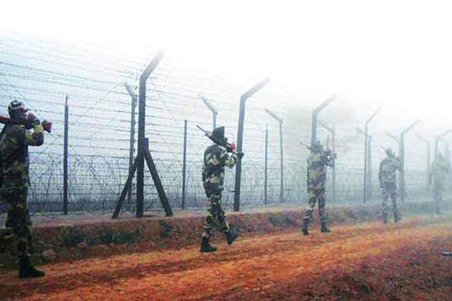 Pakistani troops fire 120 mm mortar bombs along LoC in Rajouri