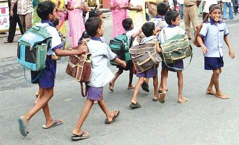 UP govt considering 'no school bag day' on Saturdays