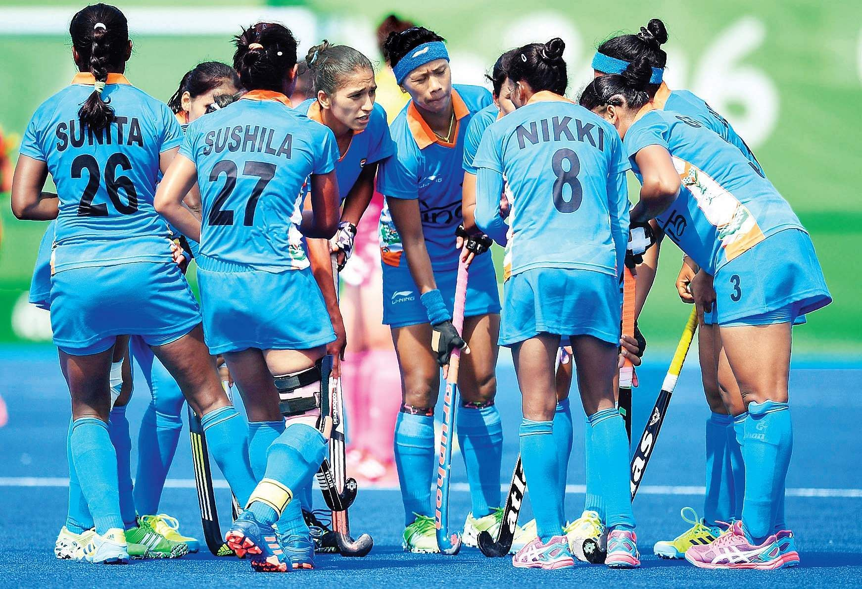 Image result for Fourth defeat in row for Indian women hockey team