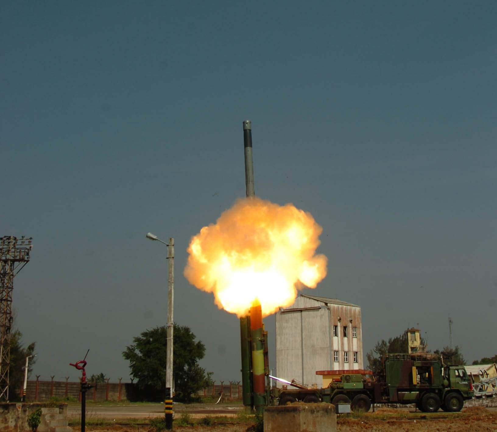 Indian Army test-fires BrahMos advanced missile