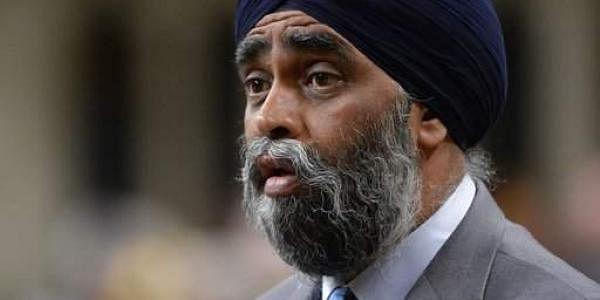 Canada's Defense Minister Harjit Sajjan
