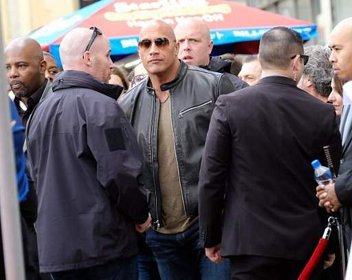 Actor Dwayne Johnson. (File photo | AFP)