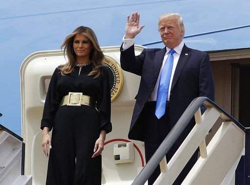 Trump slammed Michelle Obama for doing something Melania, Ivanka also did