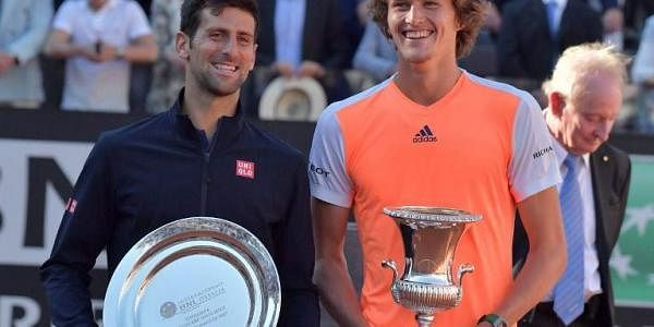 Zverev Stuns Djokovic To Win Rome Masters The New Indian Express