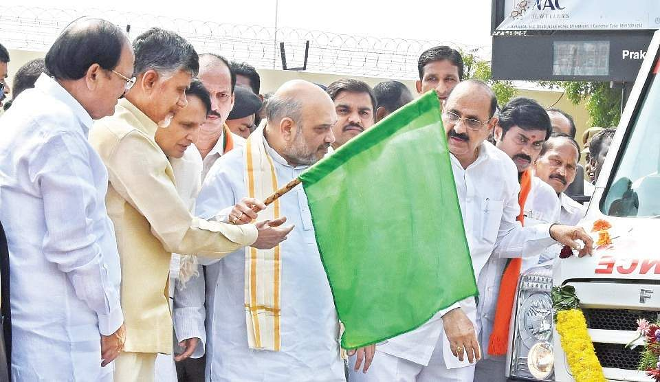 'Only BJP can build Telangana of freedom fighter's dreams'