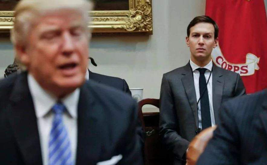 Trump hits out at 'fake news' following Kushner reports