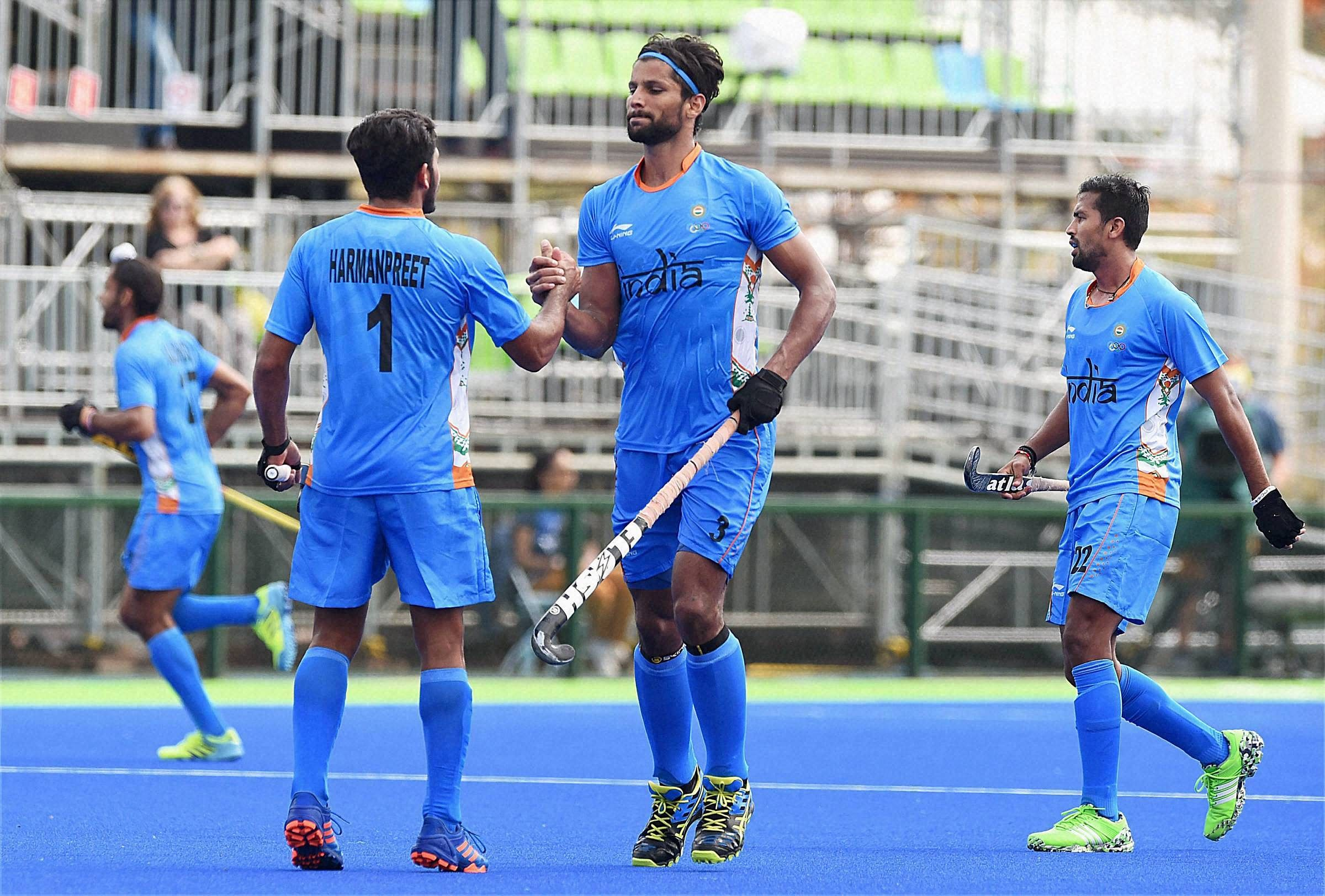 Image result for Indian men's hockey team loses 0-2 to Germany