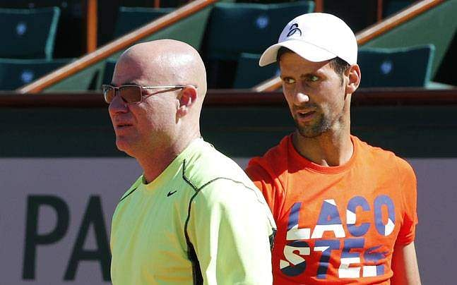 Novak Djokovic wins first match with Andre Agassi as coach