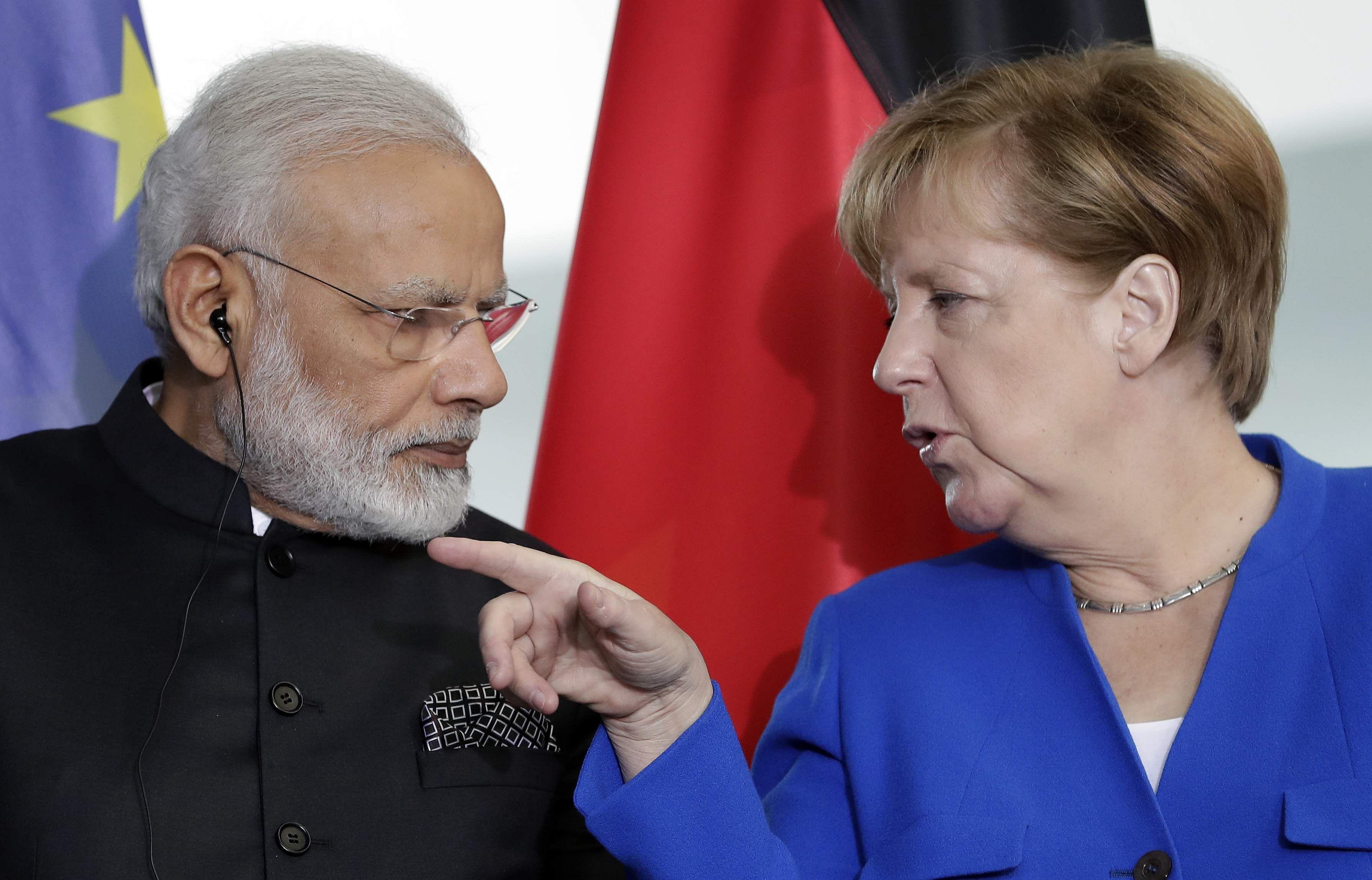 German leaders step up attacks on Trump