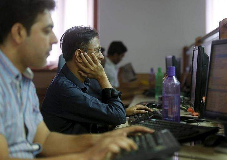 Sensex takes 267 points hit, Nifty slips from record high