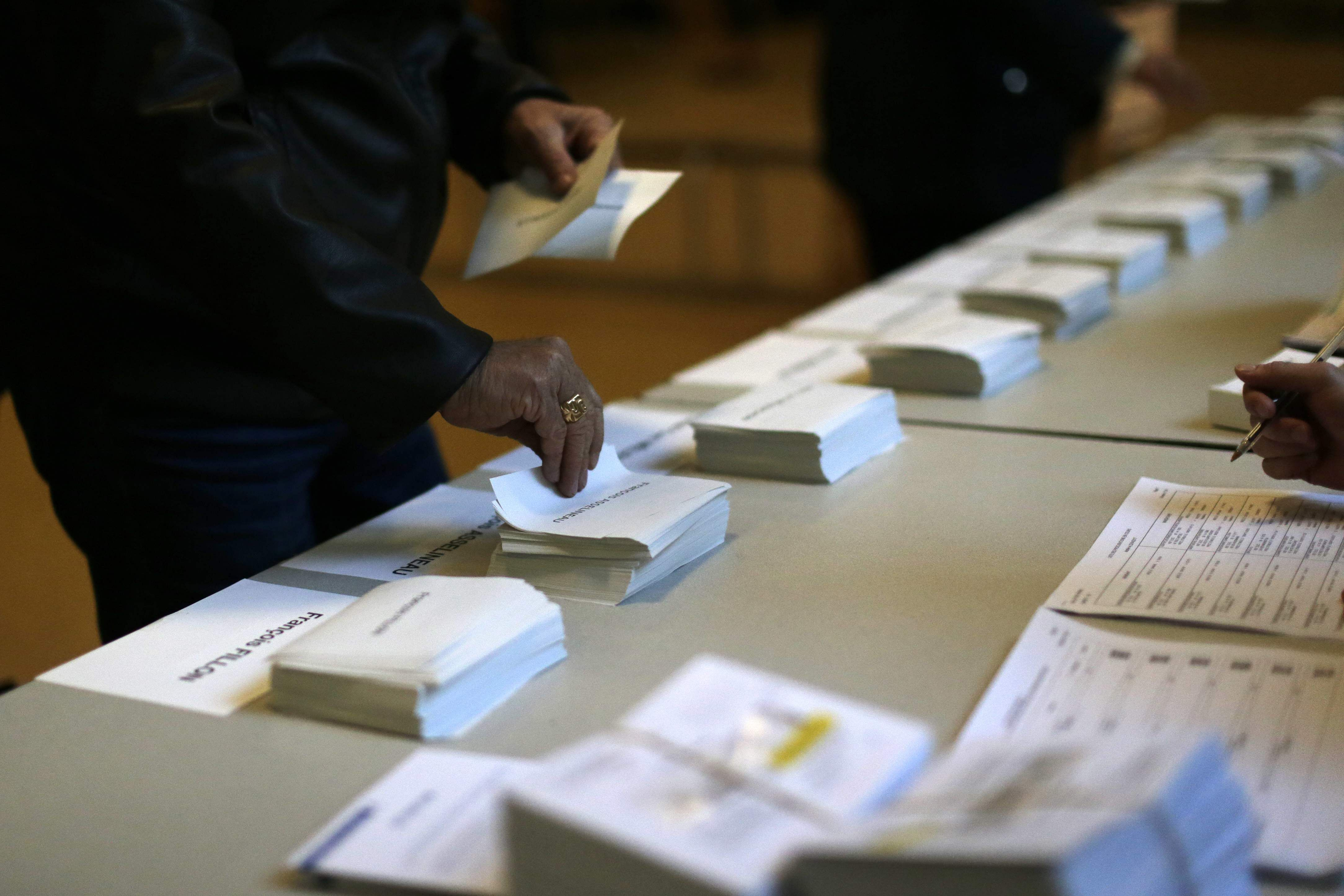 A 'war of regime choices': S. Koreans vote for new president