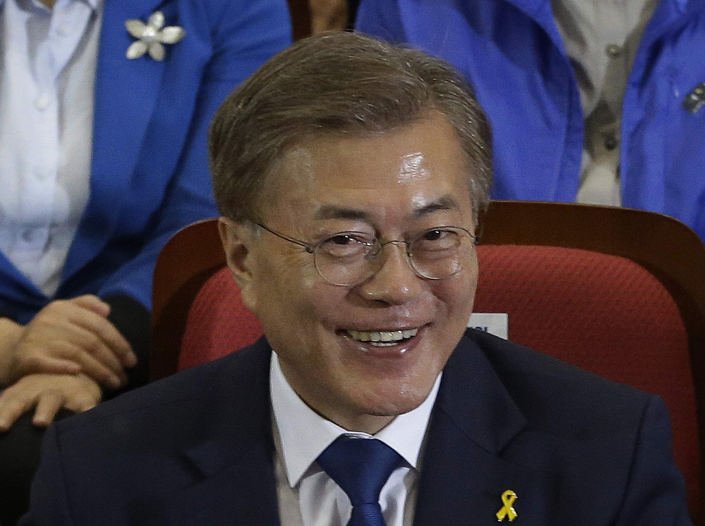 Exit polls suggest liberal Moon has won the South Korean presidential election