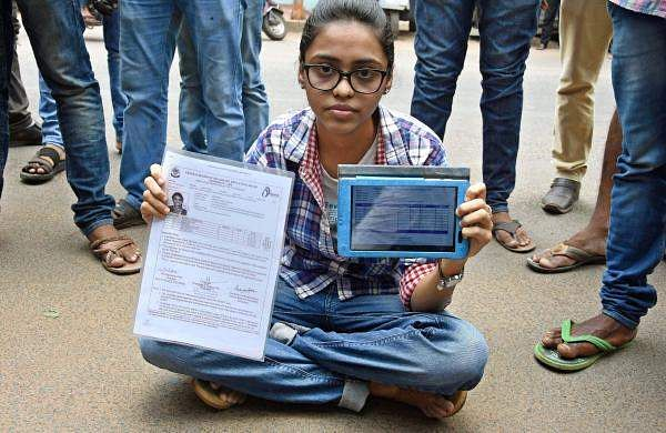 Protests over CBSE results escalate as officials arrive