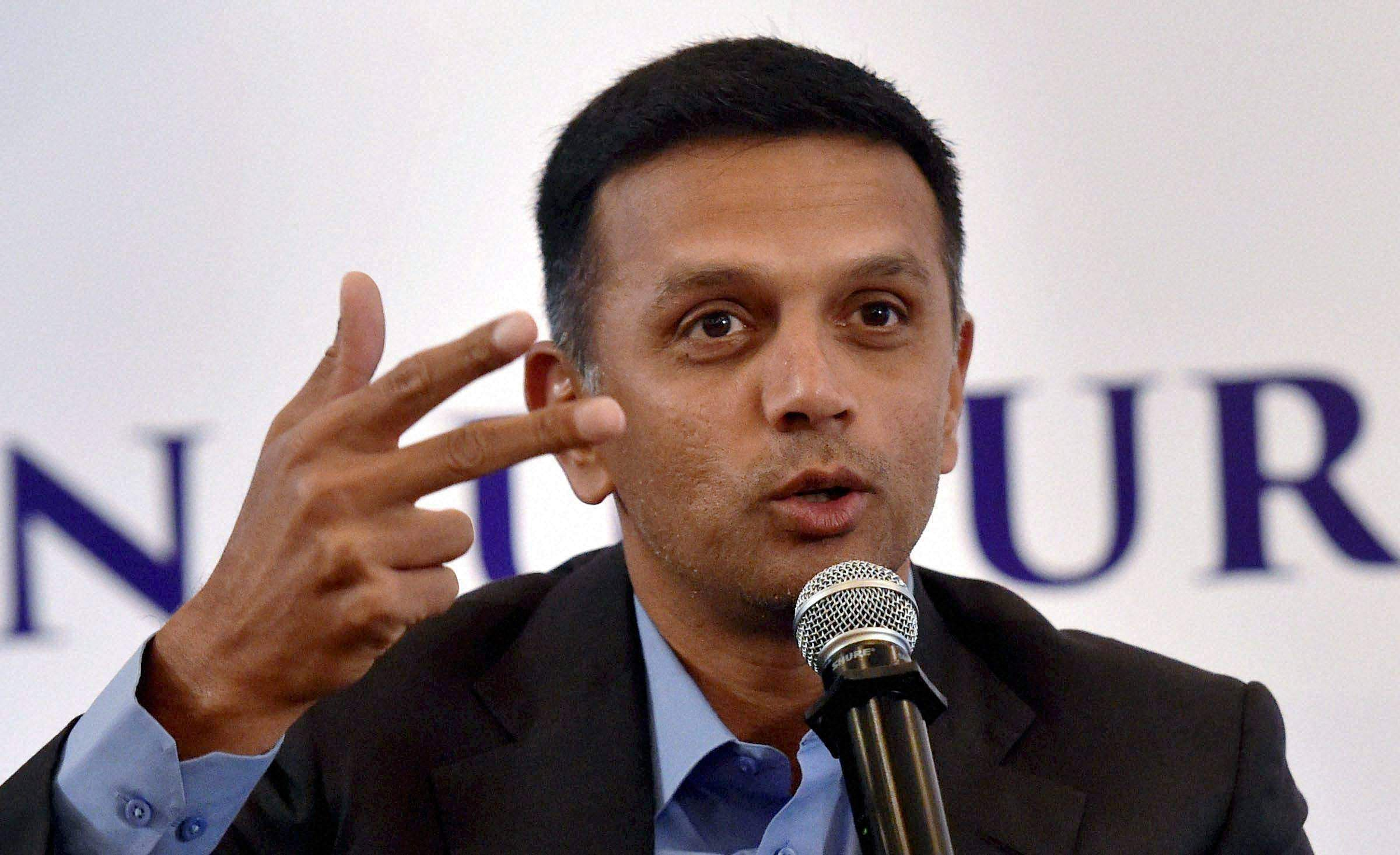 'Absolutely not under conflict of interest', Dravid responds to Ramachandra Guha
