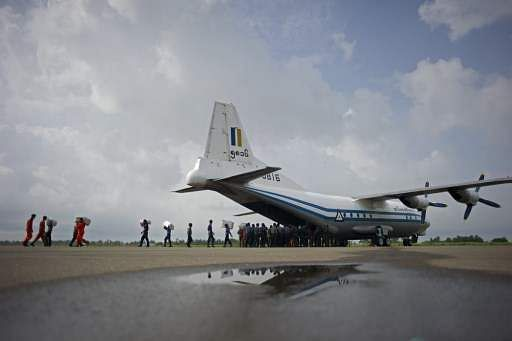 Officials find wreckage of missing Myanmar military plane