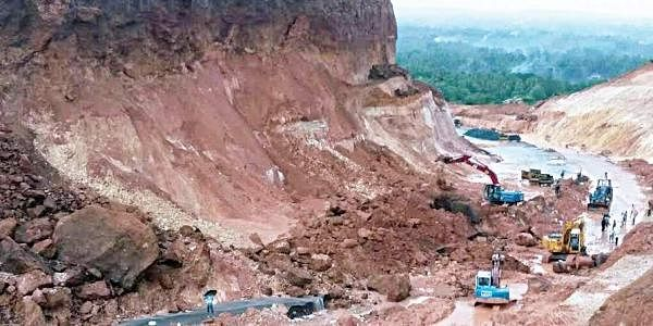 Landslide blocks NH 66 near Ottinene- The New Indian Express