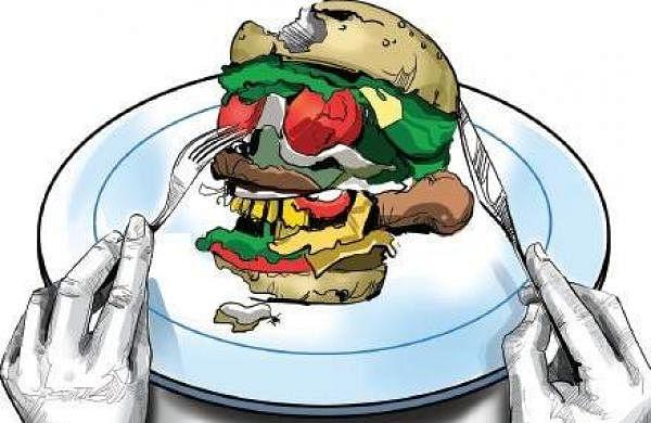 say no to junk food essay
