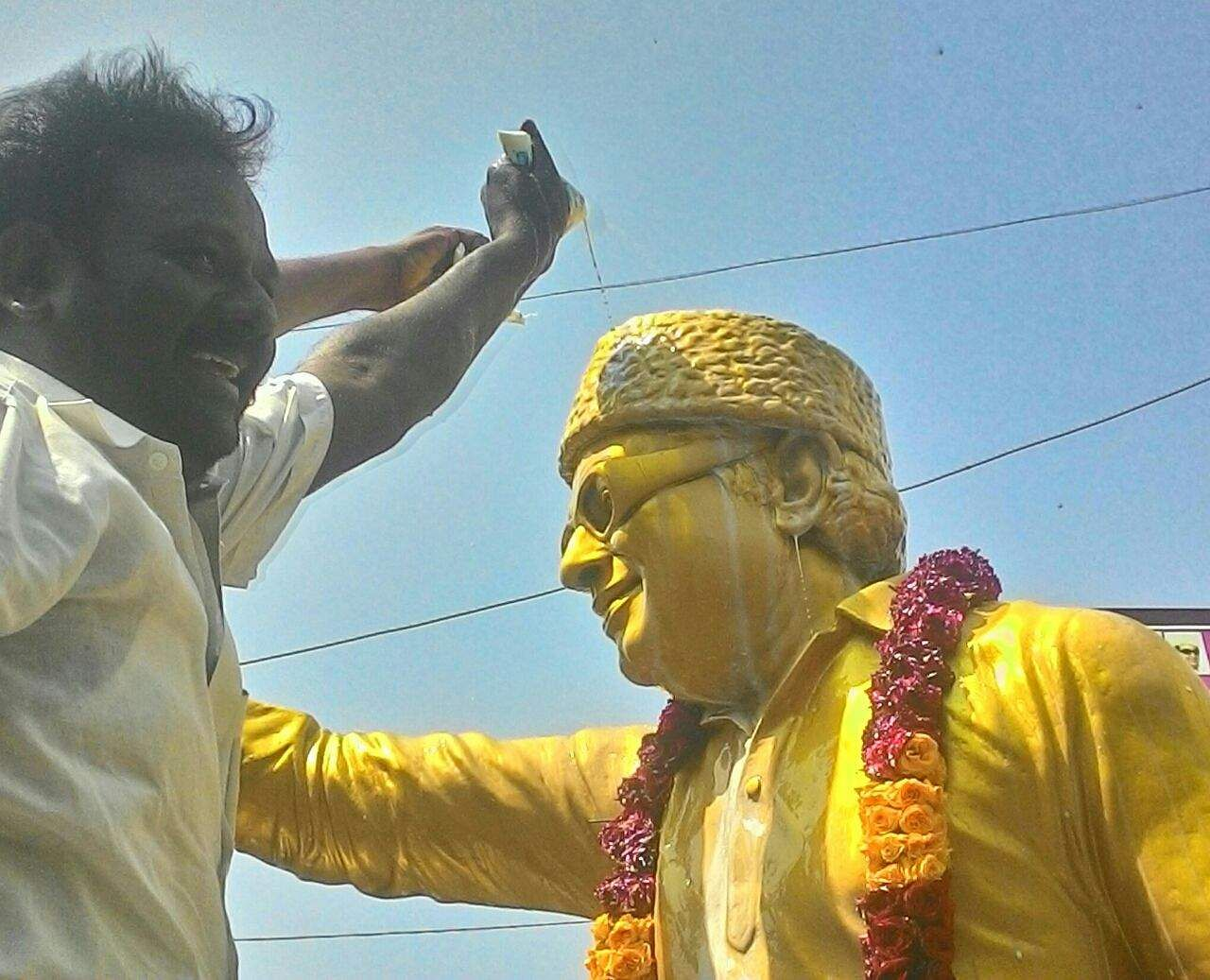 When even mgr couldnt overcome magic of two leaves symbol the new mgr statue p jawahar eps biocorpaavc Image collections