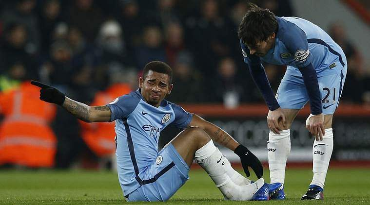 Manchester City's Gabriel Jesus does not require eye surgery