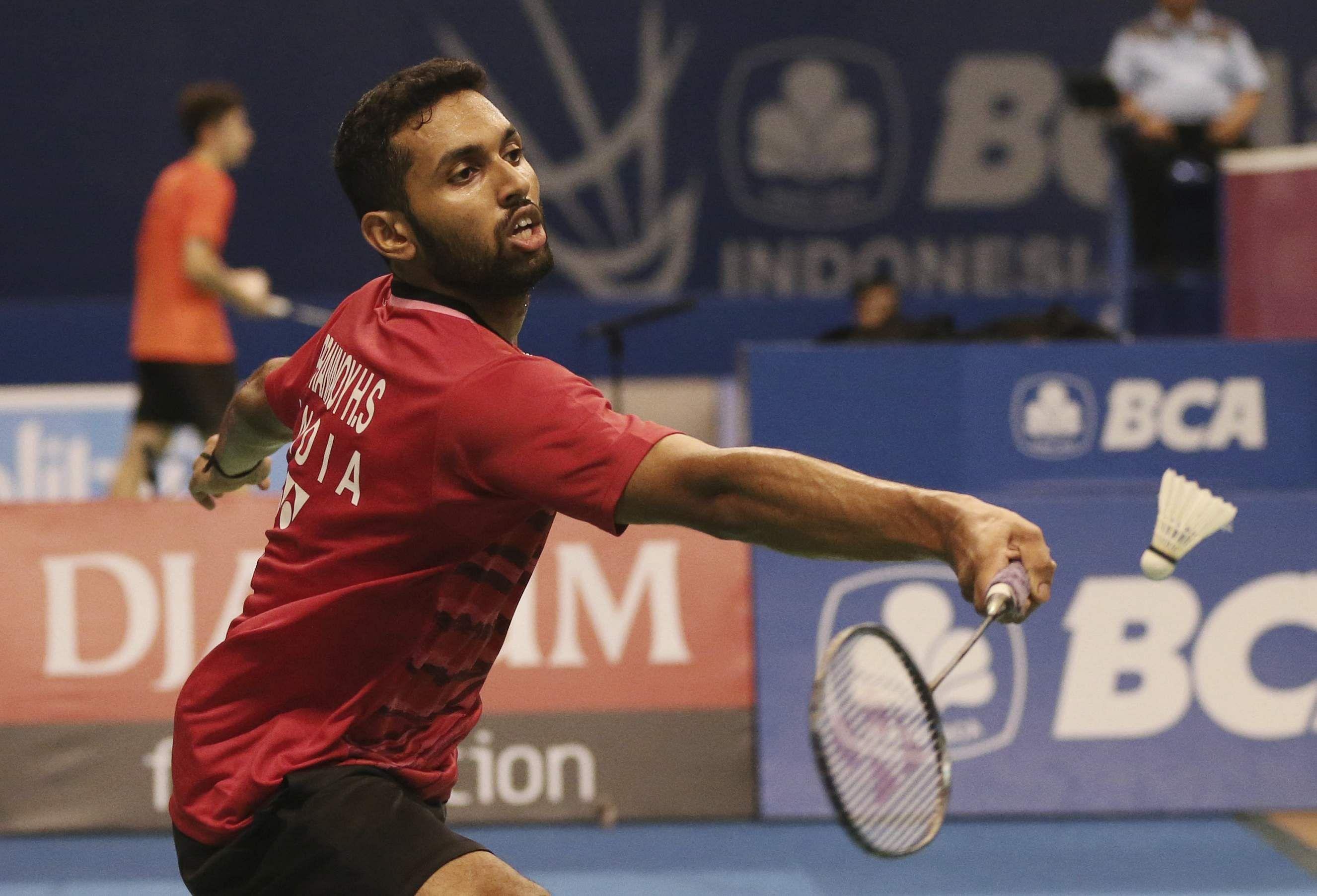 Badminton Prannoy stuns Chen Long Srikanth also enters semis of