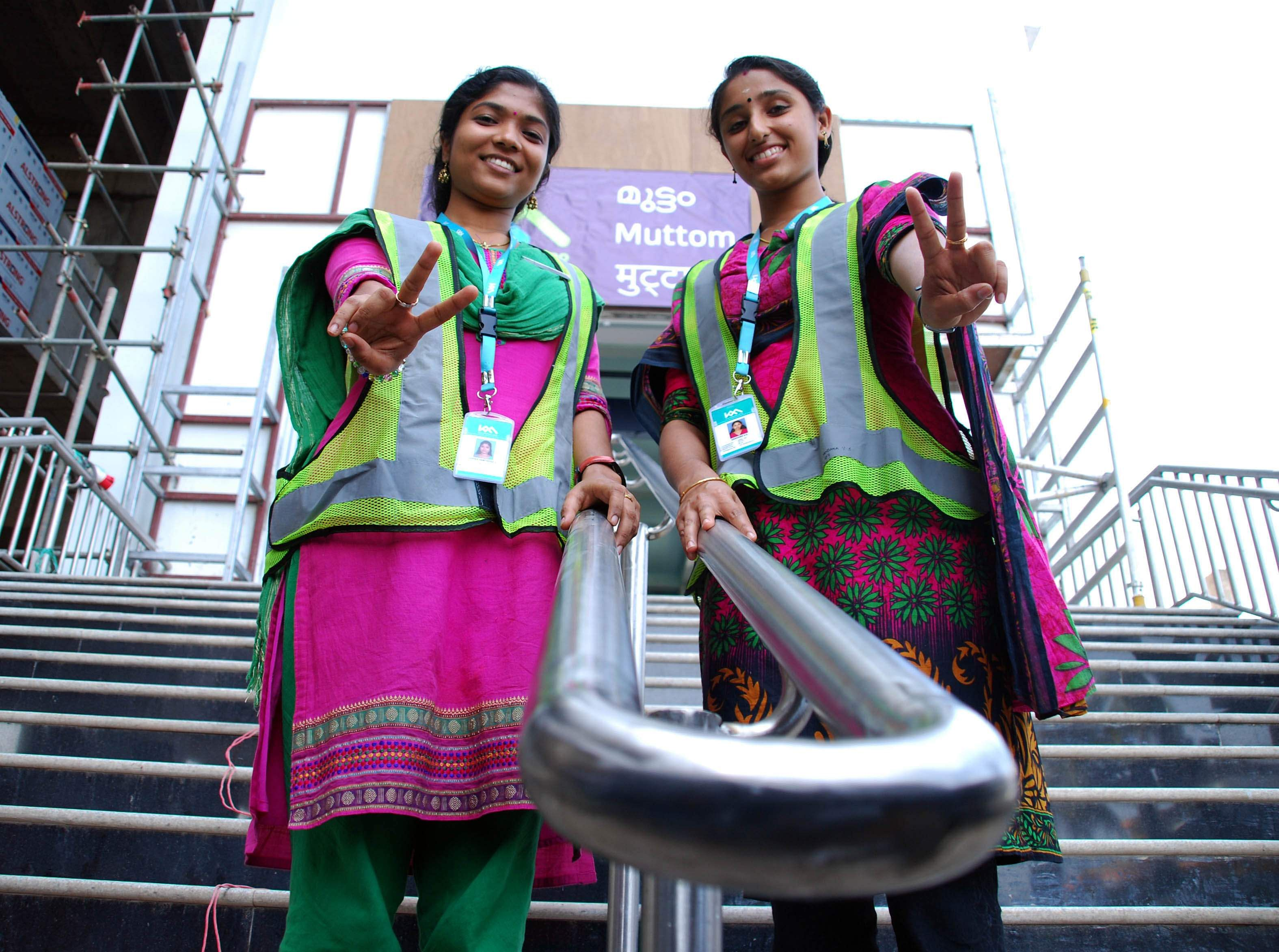 Kochi Metro's workforce would comprise 80 per cent  women. It is also the first state-owned company to be an equal opportunity employer, hiring transgenders as part of the team. (Albin Mathew | EPS)
