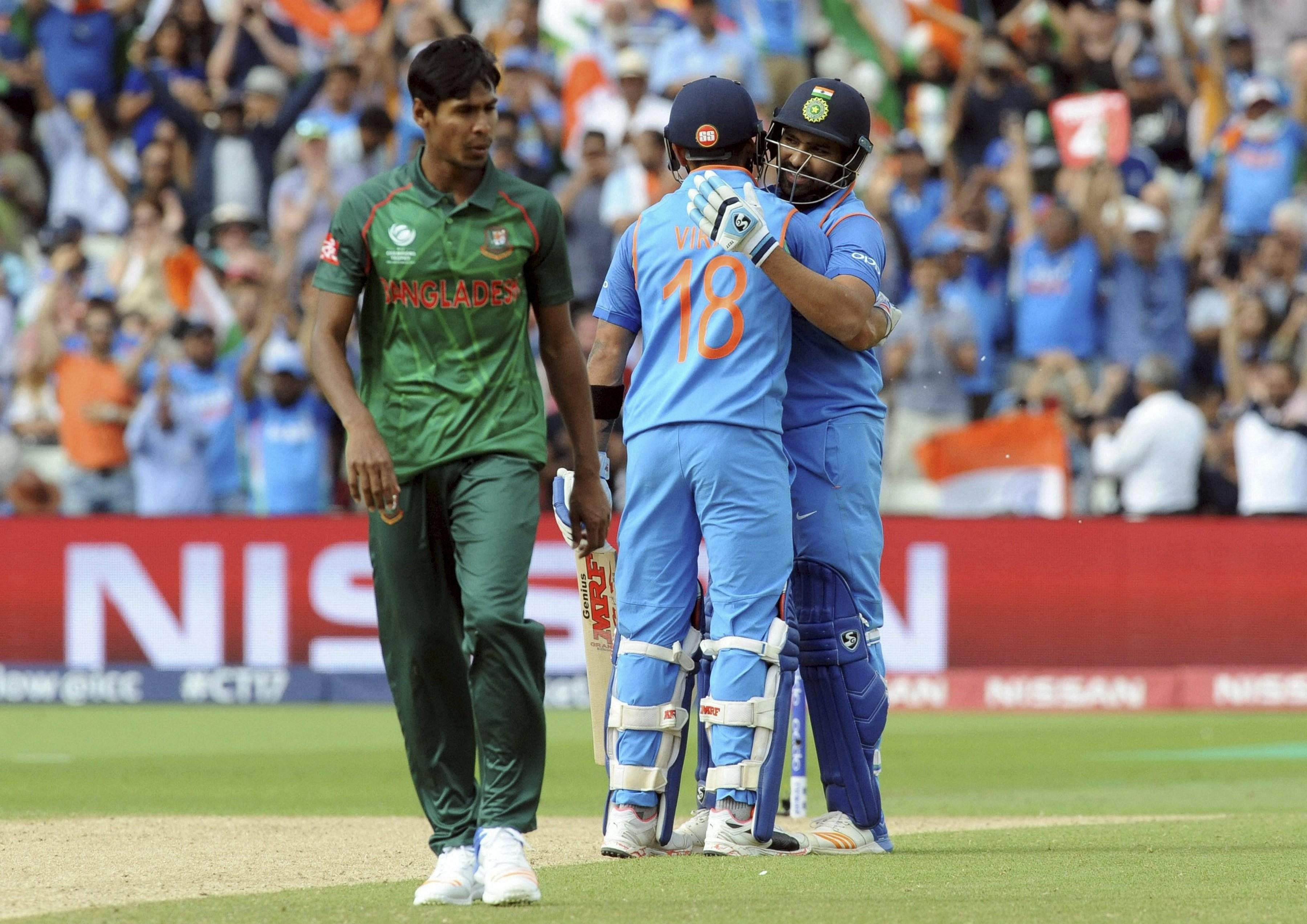 India set 192 to beat South Africa in Champs Trophy showdown
