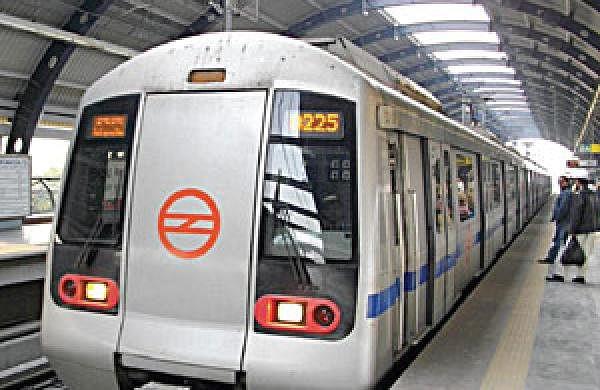 Image of Delhi metro train used for representational purpose.