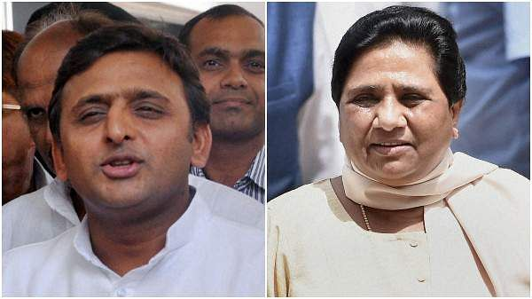 Image result for akhilesh and mayawati