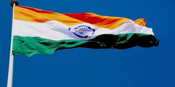 India national flag at Attari. (Photo | PTI)