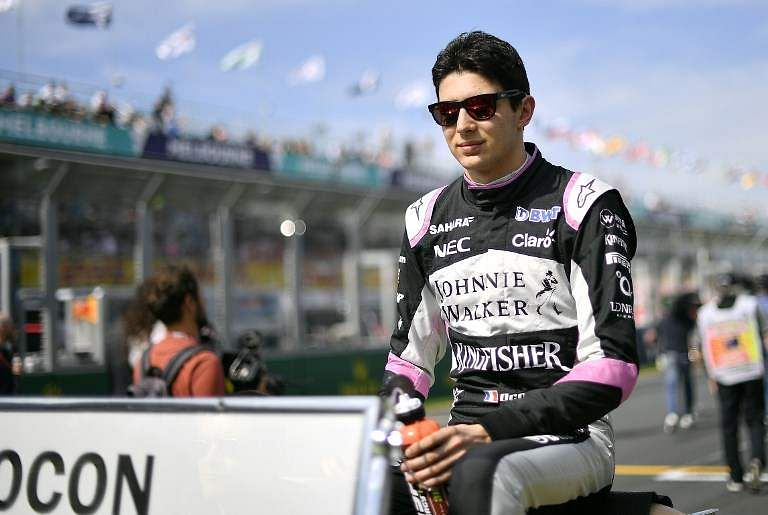 Ocon eanrs 8 points for Force India, Perez retires midway