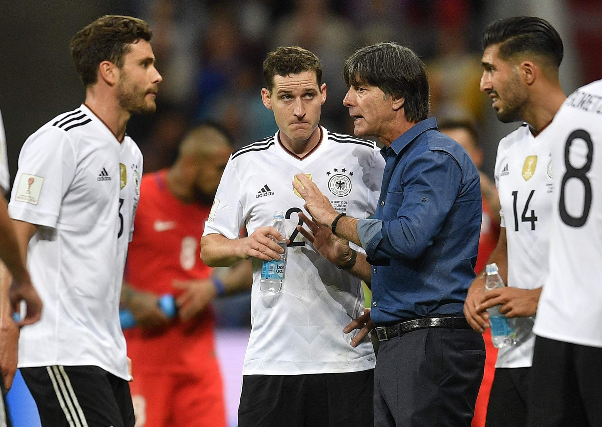 Germany reach semis as referee needs VAR double-take
