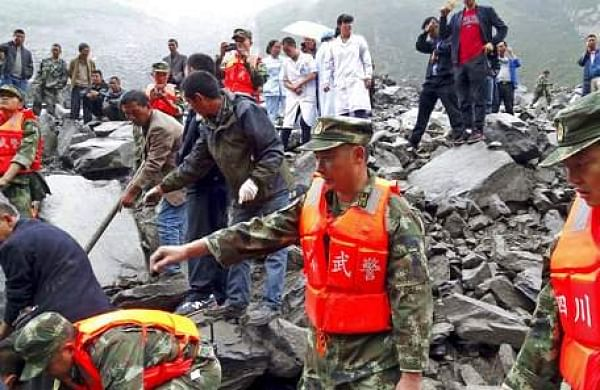China landslide: Around 100 people feared buried in, says authorities- The New Indian Express