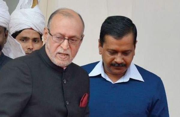 Anil Baijal and Arvind Kejriwal. (File   EPS)