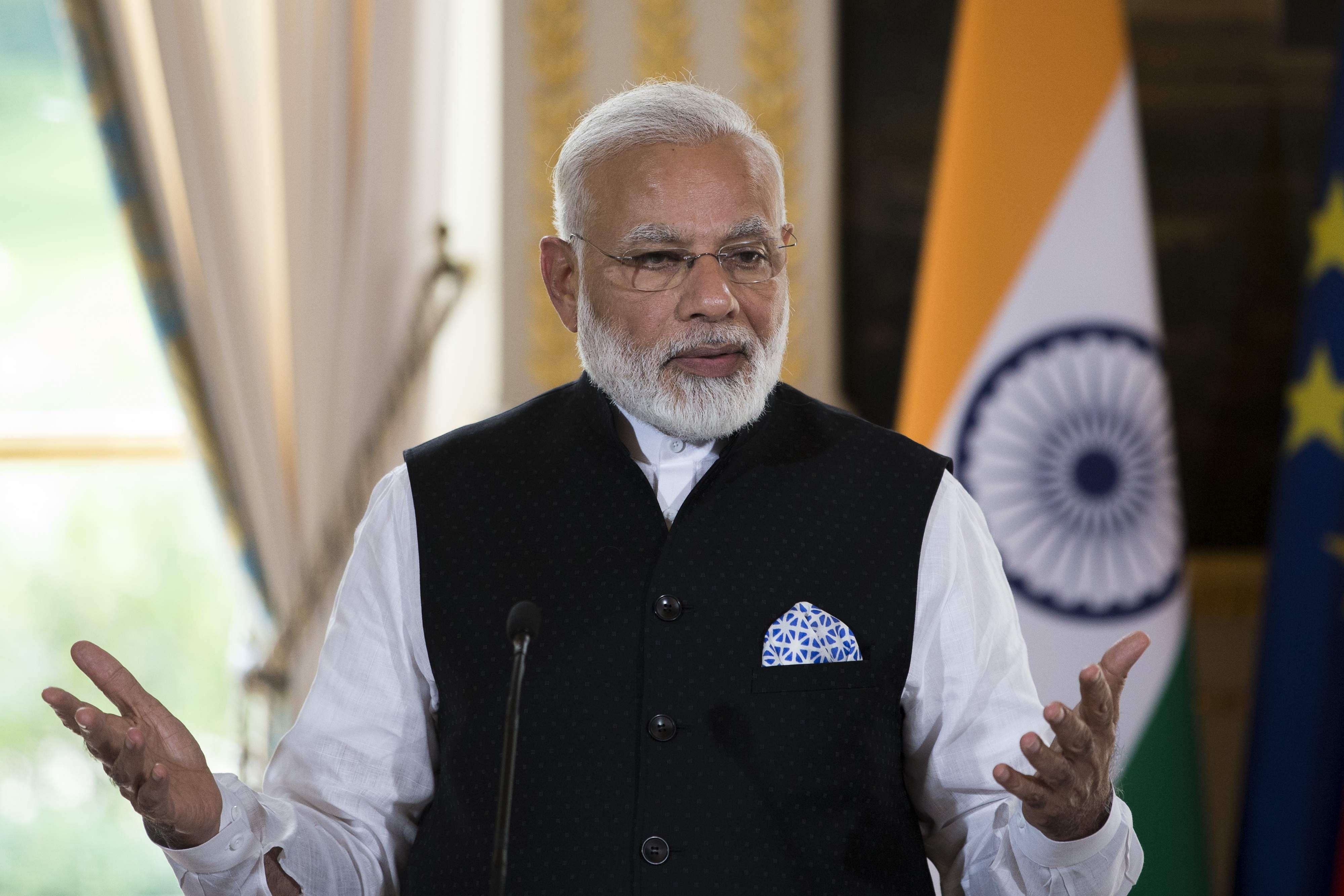Pm Modi Arrives In Washington On Second Leg Of 3 Nation
