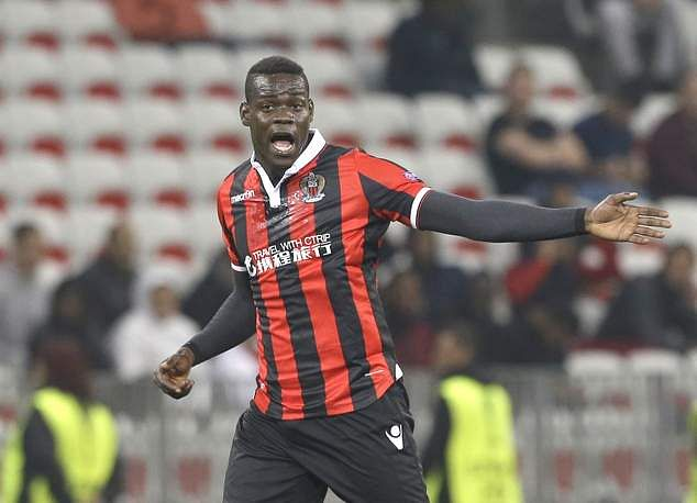 Mario Balotelli Signs One-year Contract Extension With Nice