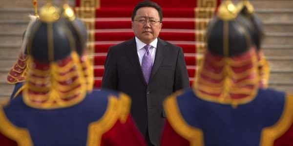 Current Mongolian President Tsakhiagiin Elbegdorj | File Photo | AP