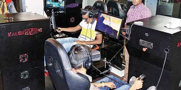 440542d54f5d Gamers embrace virtual reality at a centre in ChennaiPhotos Mansi Rathi