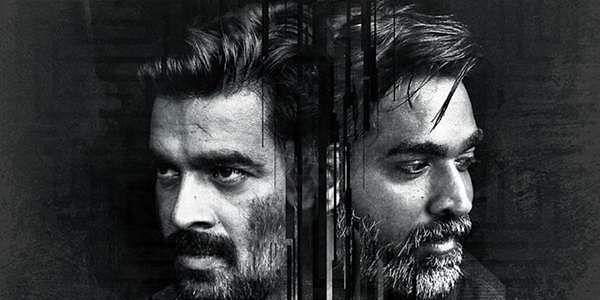 Vikram Veda movie poster.(Twitter via @ActorMadhavan)