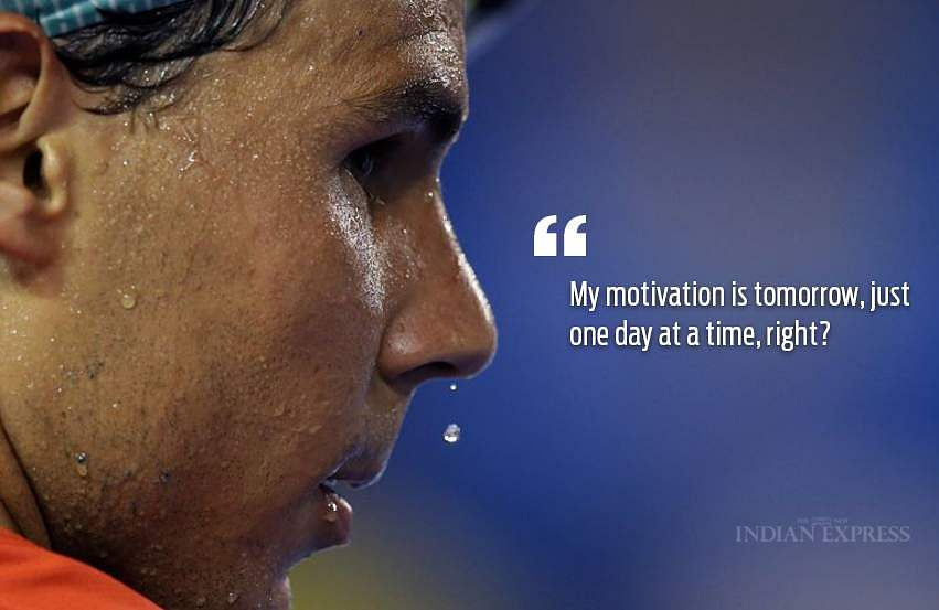 10 Inspiring Quotes By The King Of Clay Rafael Nadal The New Indian Express