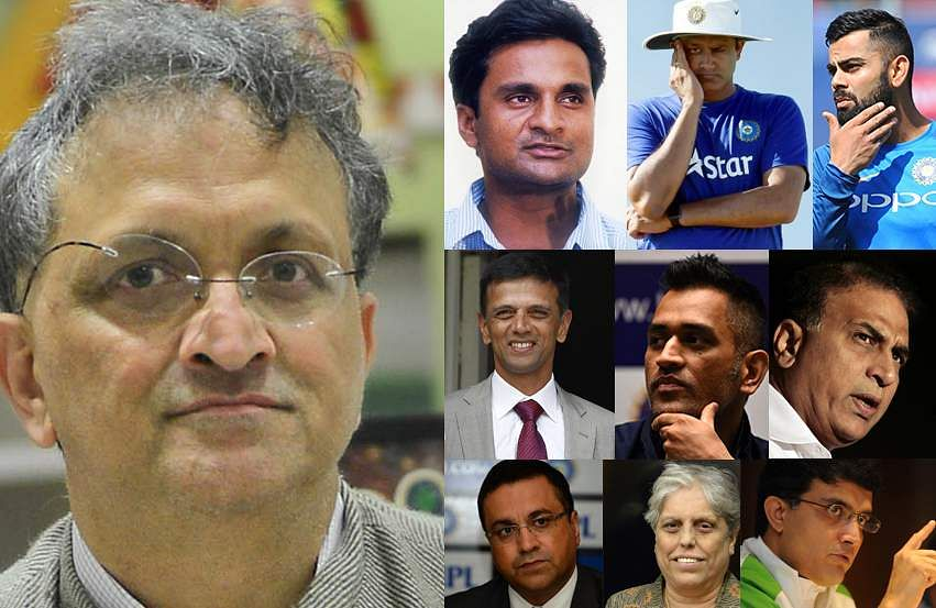 What Ramachandra Guha saysabout the who iswho of Indian cricket