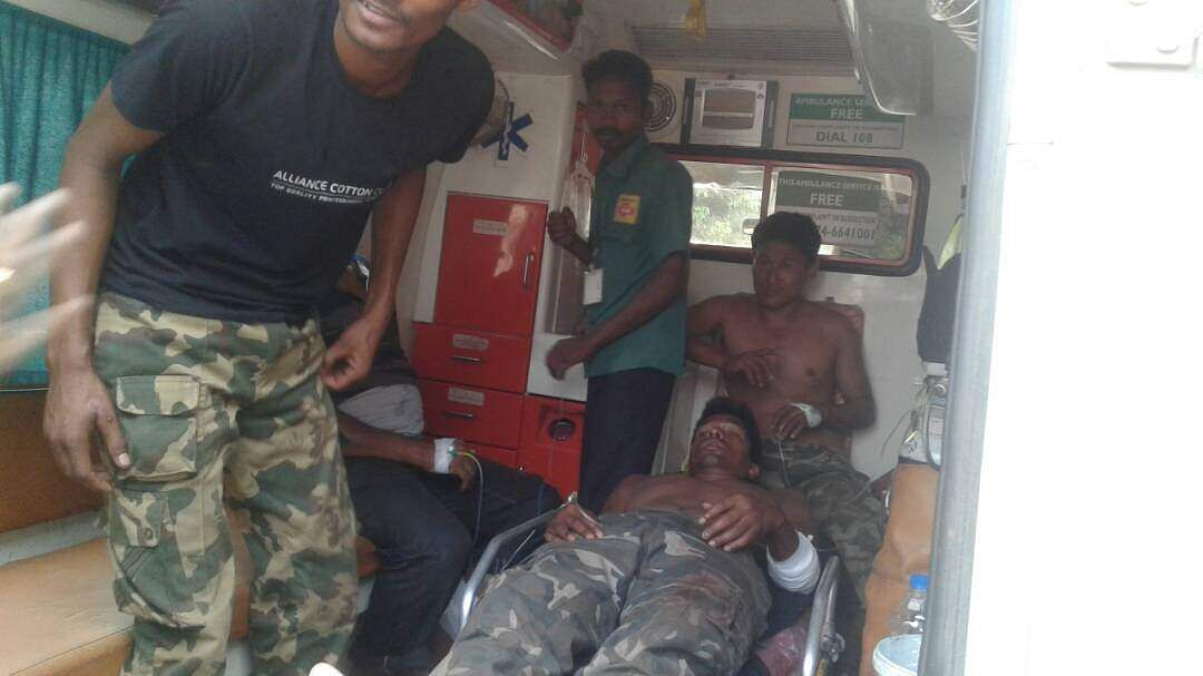 SOG jawan killed, 10 injured in Maoist ambush