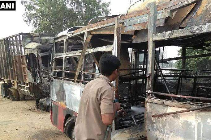 Death toll rises to 22 in truck-bus collision in UP's Bareilly