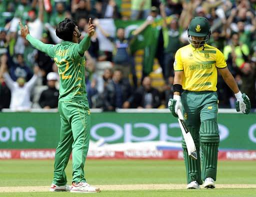 Champions Trophy: South Africa wins toss, chooses to bat against Pakistan