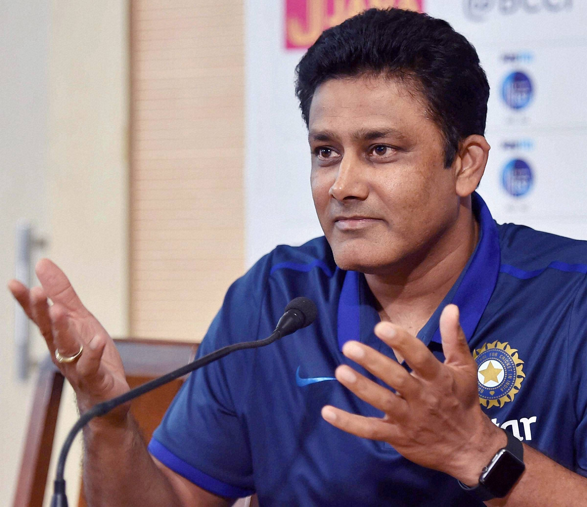 CAC seeks time on Anil Kumble's job