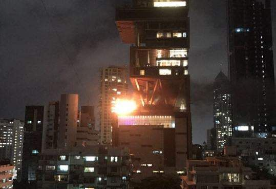 Mukesh Ambani's Antilia building in Mumbai catches fire; no injury reported