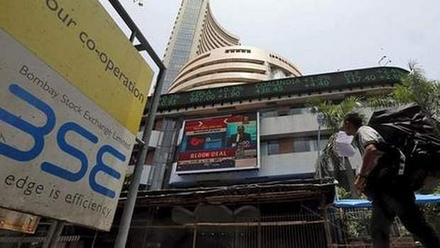 Sensex slumps from record high, investors face issues at NSE