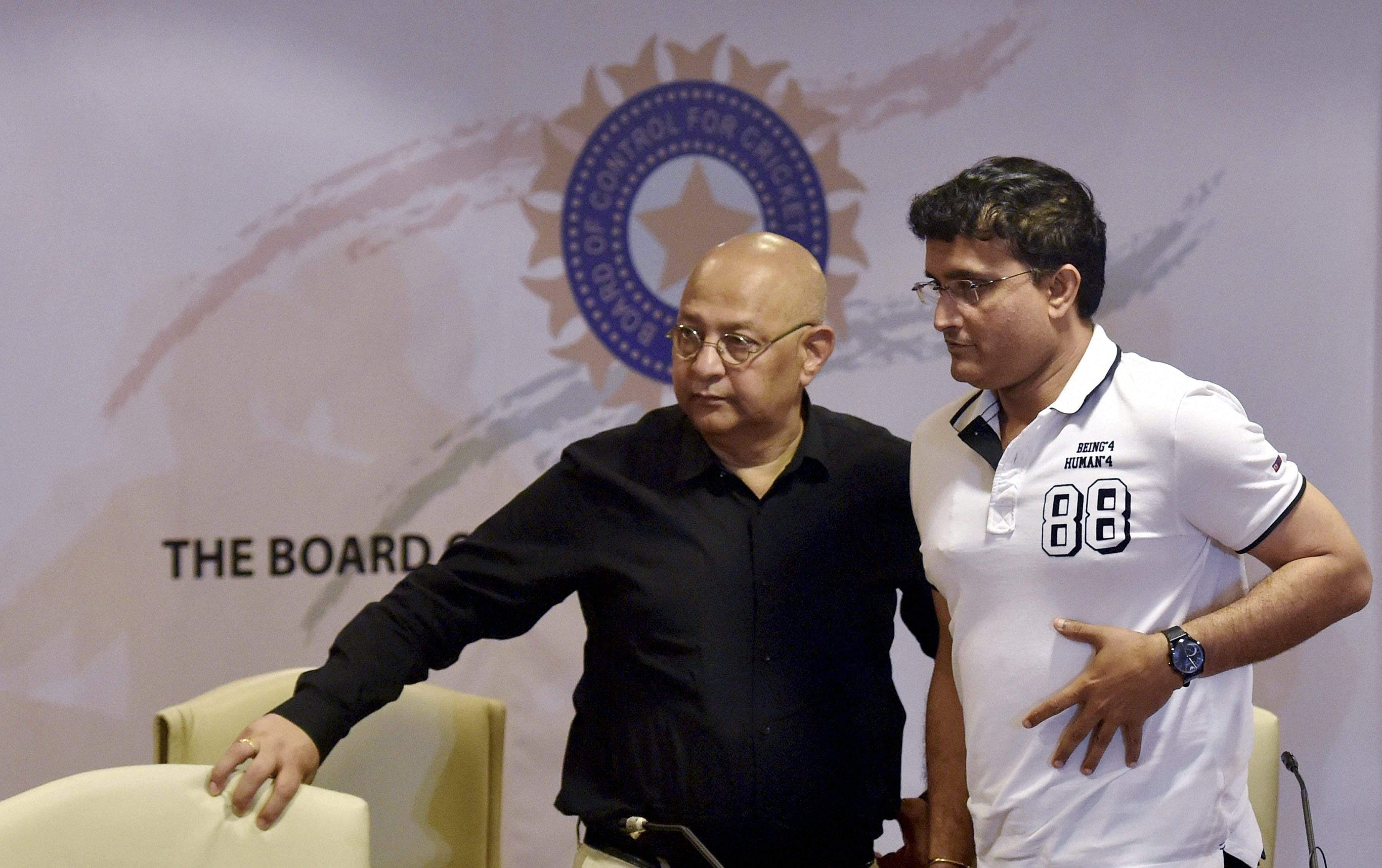 Decision on hold, to be announced after consultation with Kohli: Sourav Ganguly