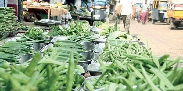 The biggest difference is in the price of cucumber. While it costs Rs 15 per kg in Tamil Nadu, it is sold at Rs 50 per kg in Kerala.